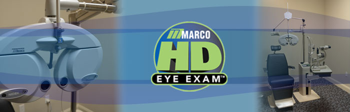 Marco HD Eye Exam